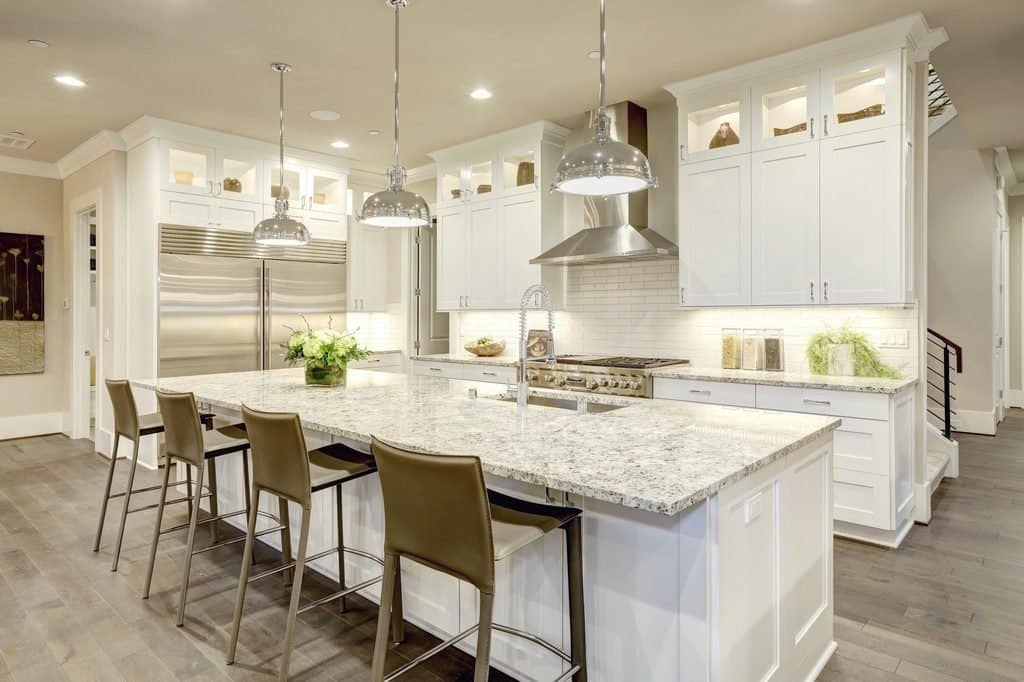 Kitchen Counter And Cabinet Finish Combinations