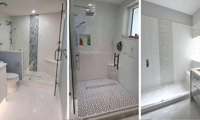 Bathroom Remodel Southwest Florida - Shower Tiles