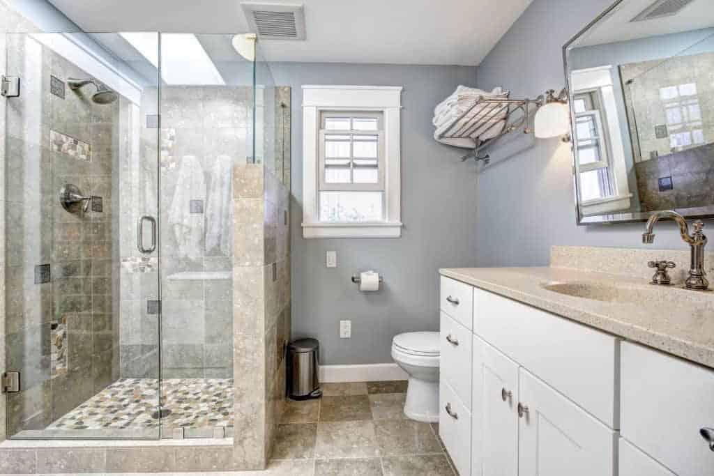 Bathroom Remodel Southwest Florida - Ventilation Light Window