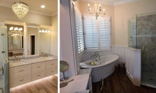 Bathroom Remodel Southwest Florida - Lighting Fixtures